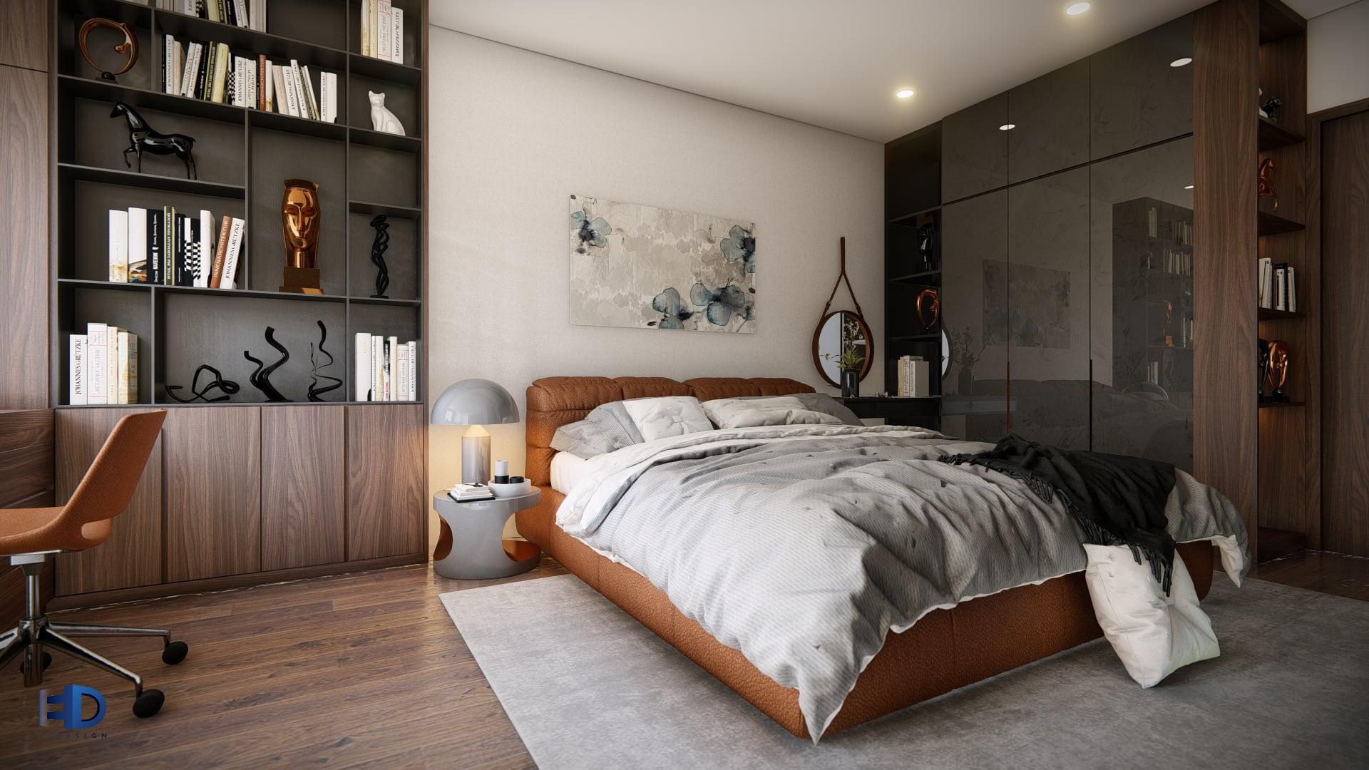 EnDesign Bedroom High Quality - 3D RENDERINGS